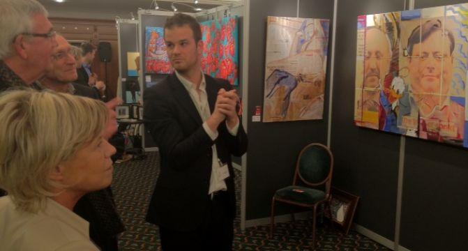 VIP Night during Antwerp Accessible Art Fair